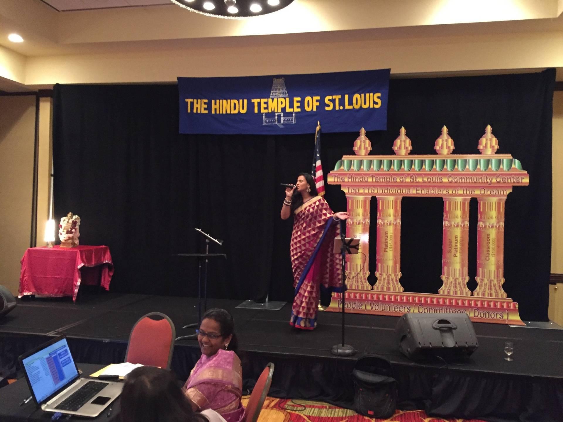 St Louis Hindu Temple Fund raising Show