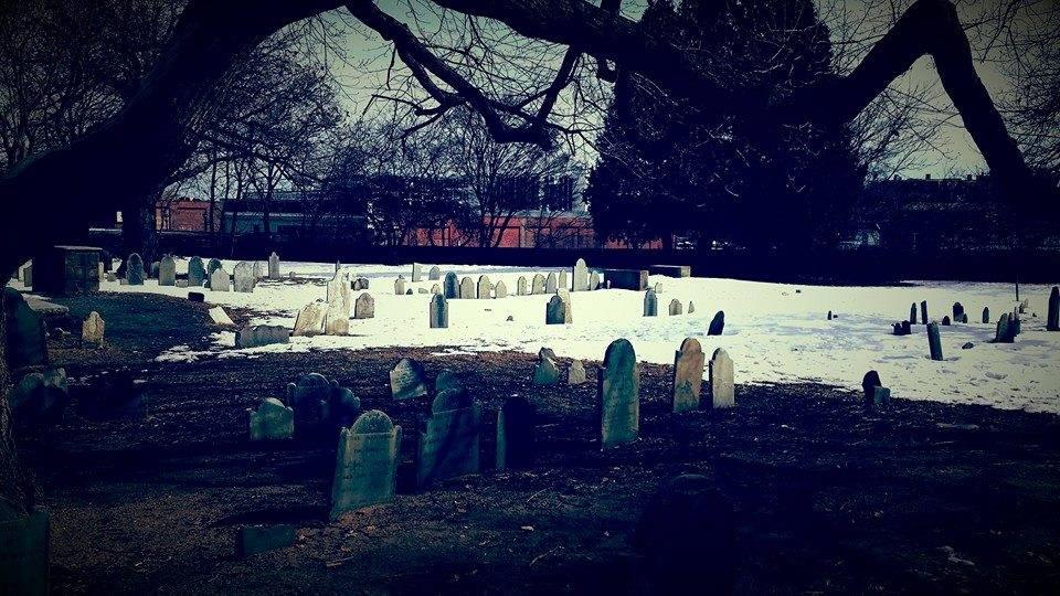Old Burying Point - Salem Ma