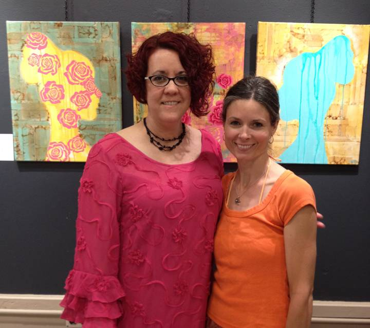 Nina Cunningham and I