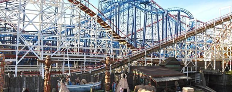 Blackpool Pleasure Beach.