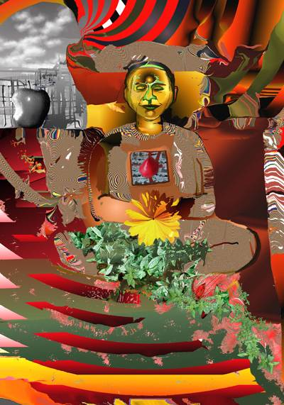 Hip Hop Buddha in the  Garden of Eden
