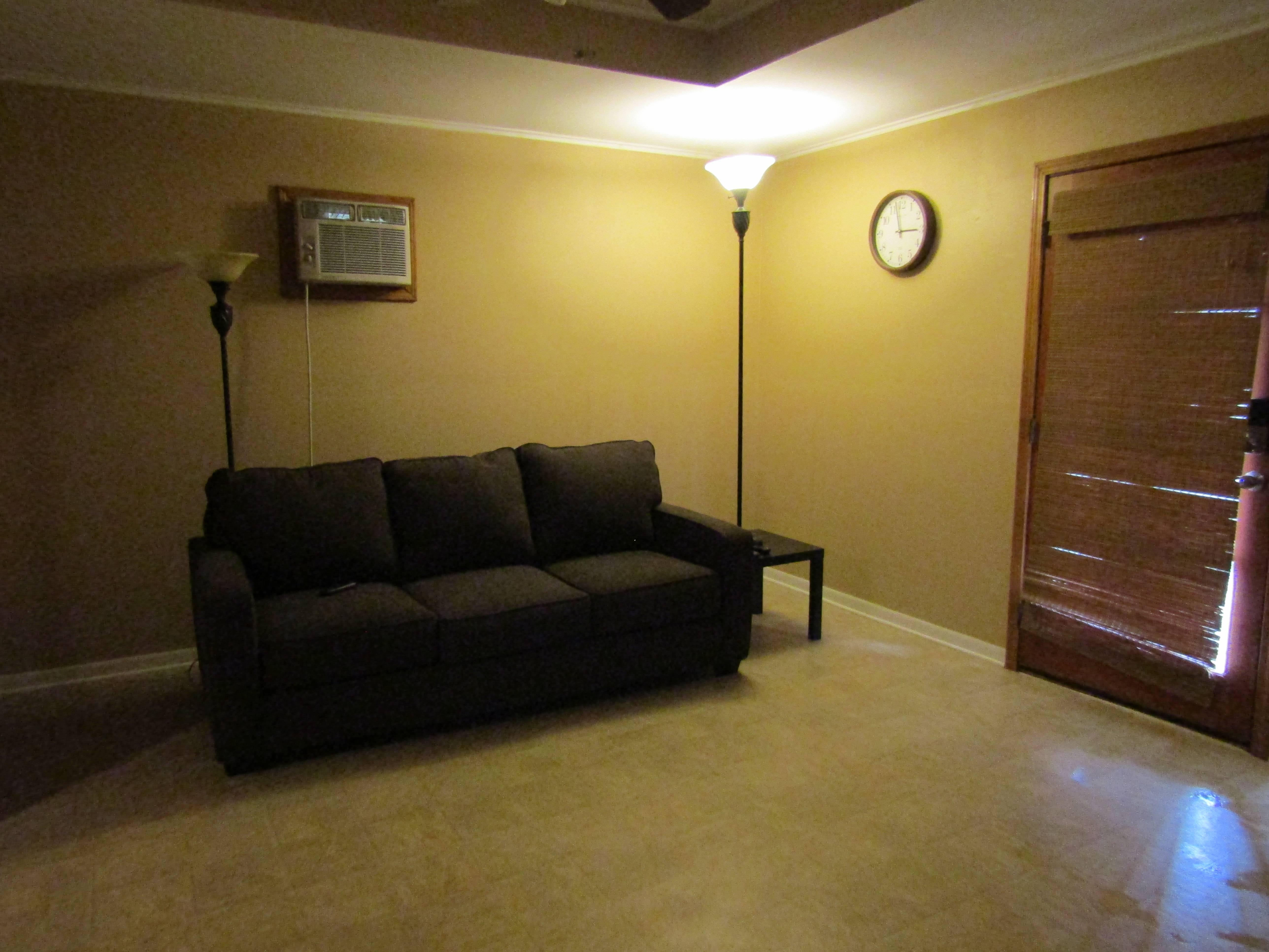 Sofa sleeper in the living room