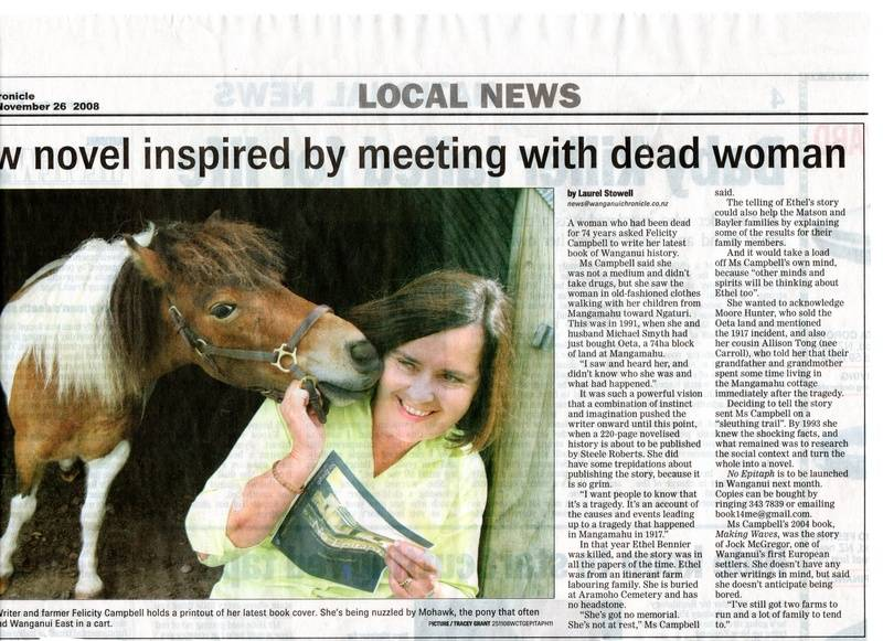 Wanganui Chronicle - No Epitaph