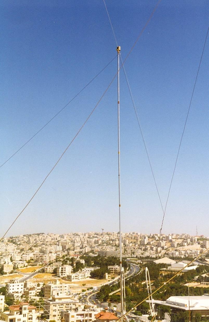 JY8ED - HF antenna
