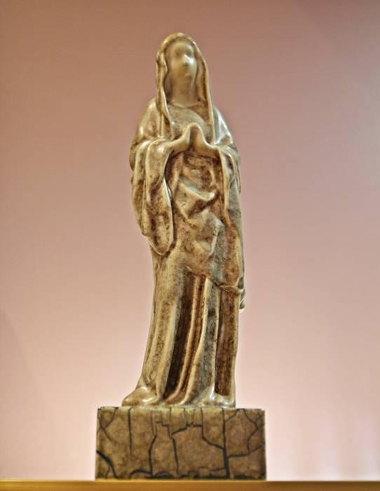 « Vierge gothique » | Grès de MOUGIN