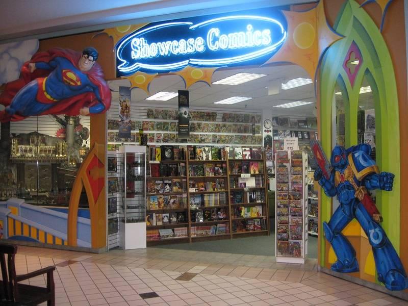 Showcase Comics at the Granite Run Mall