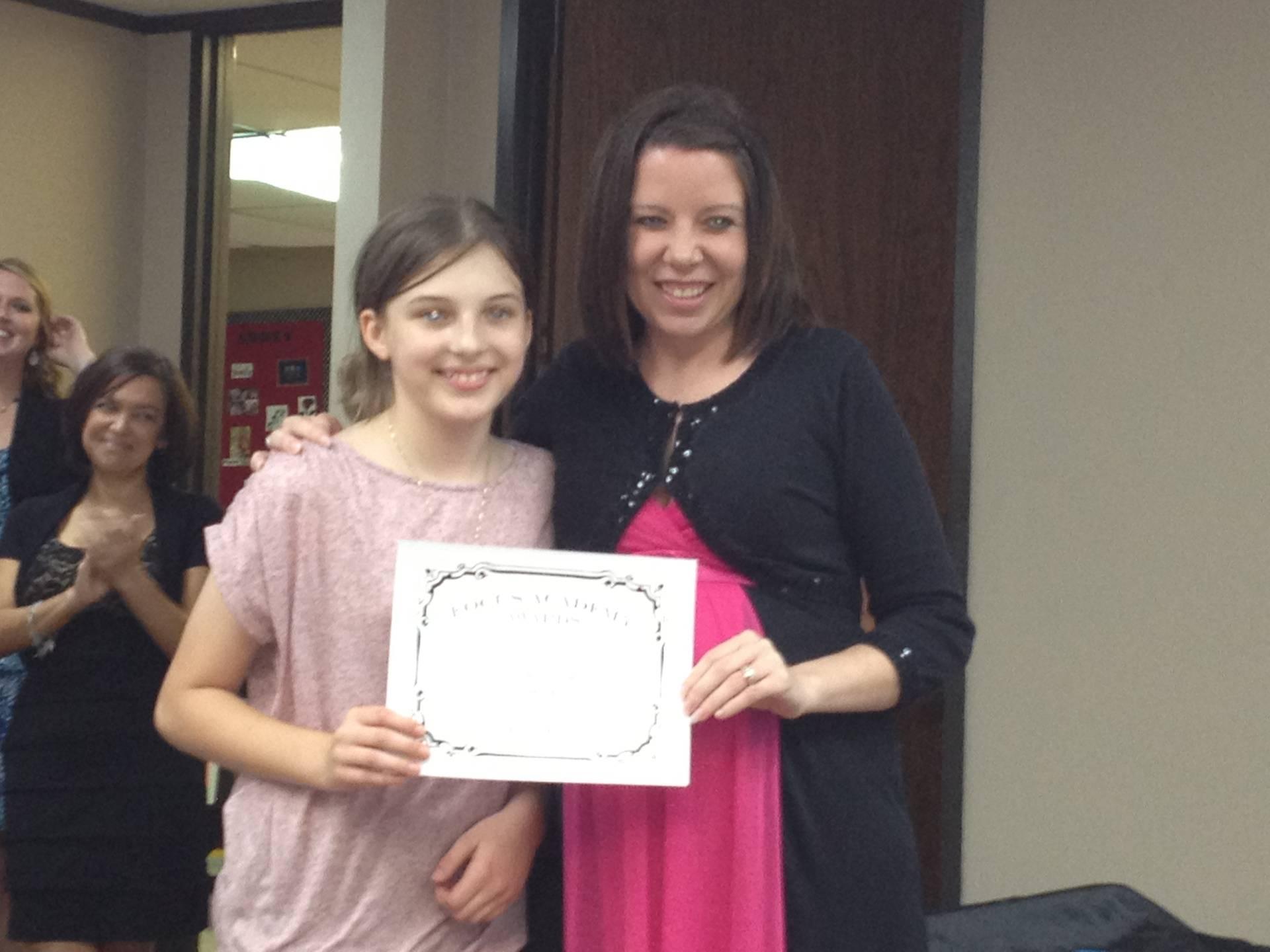 Ms. Villar's Class Awards Ceremony
