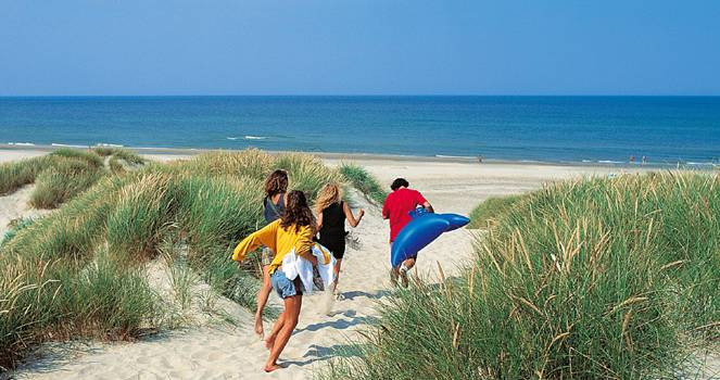 to the beaches......