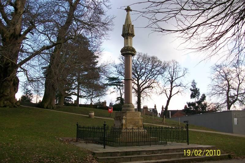 Memorial to Nine Ipswich Martyrs,