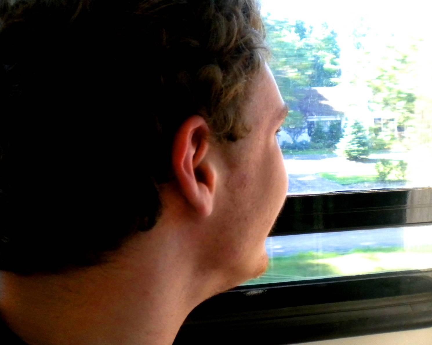 Ben + Train = Happy