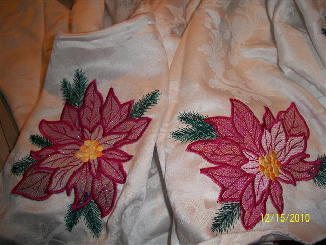 Sherrie's Christmas Tablecloth