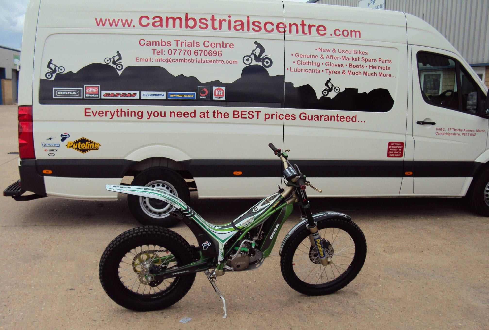 Cambs Trials Centre, Unit 7, 57 Thorby Avenue, March, Cambridgeshire, PE150AR, United Kingdom