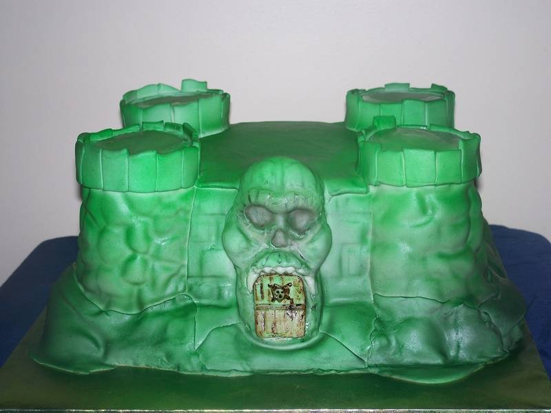 Castle Greyskull (He MAN The Masters of the Universe)