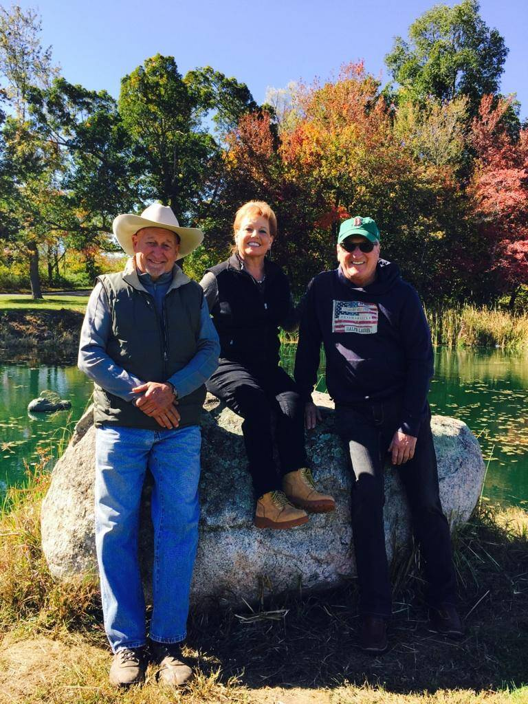 Dad, Joel & Judi