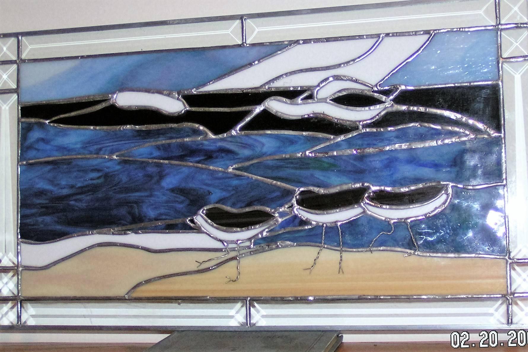 Shore Birds Panel