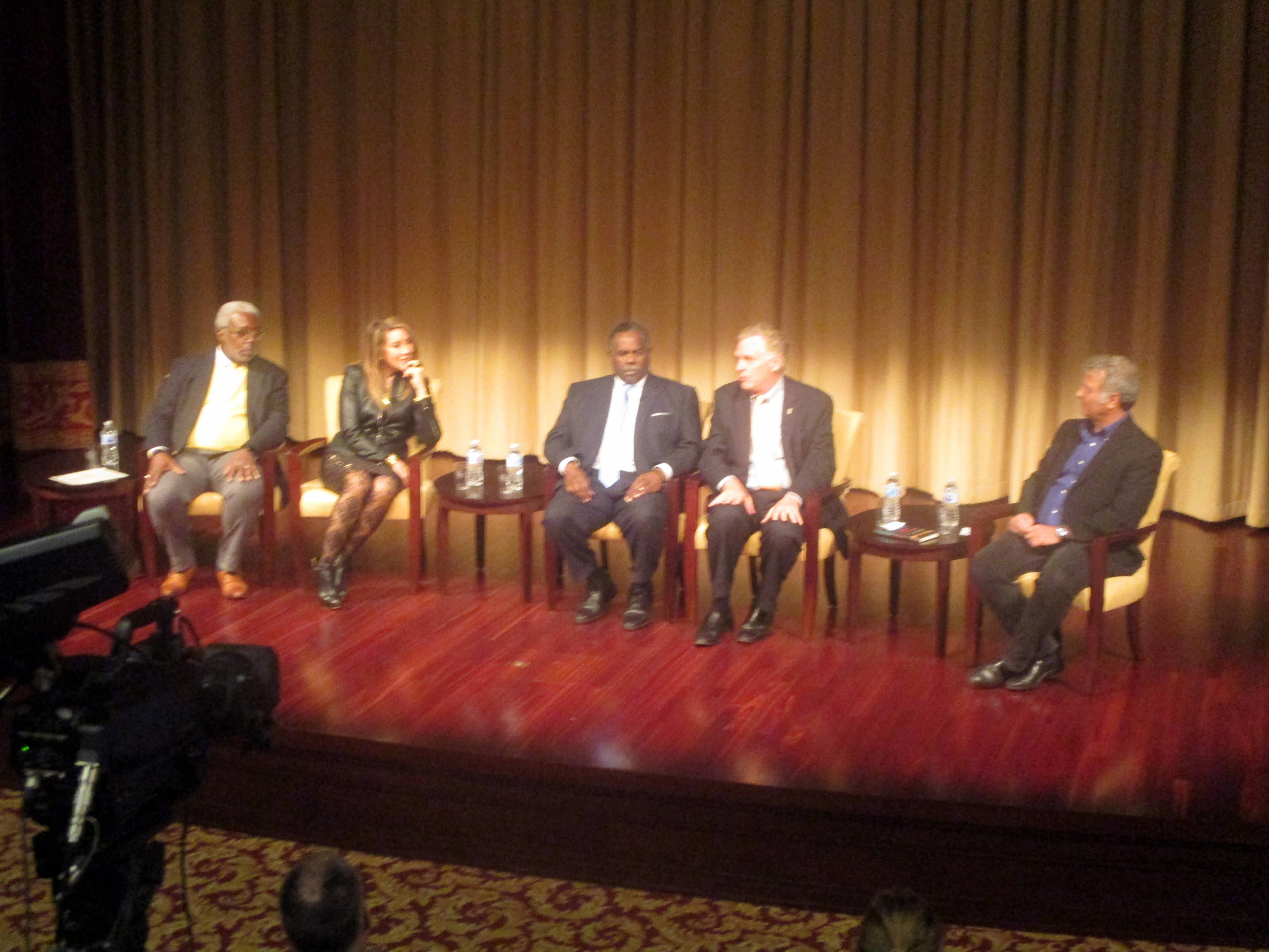 Panel at Beyond Charlottesville at National Archives and Records Administration