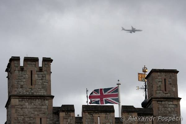 The Tower and the plane