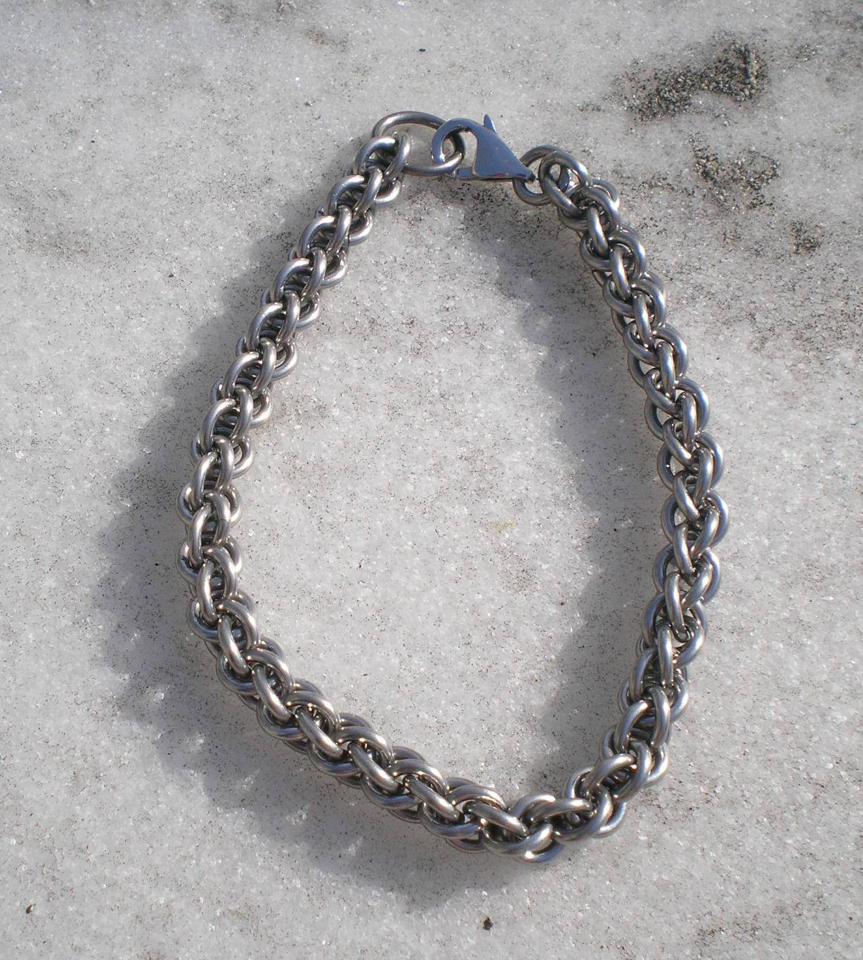 Stainless Steel rope Chain Bracelet