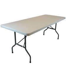 8' Plastic Table @ @10.00 ea