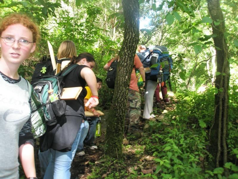 More hiking....