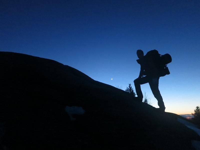 Mt. Major at dusk