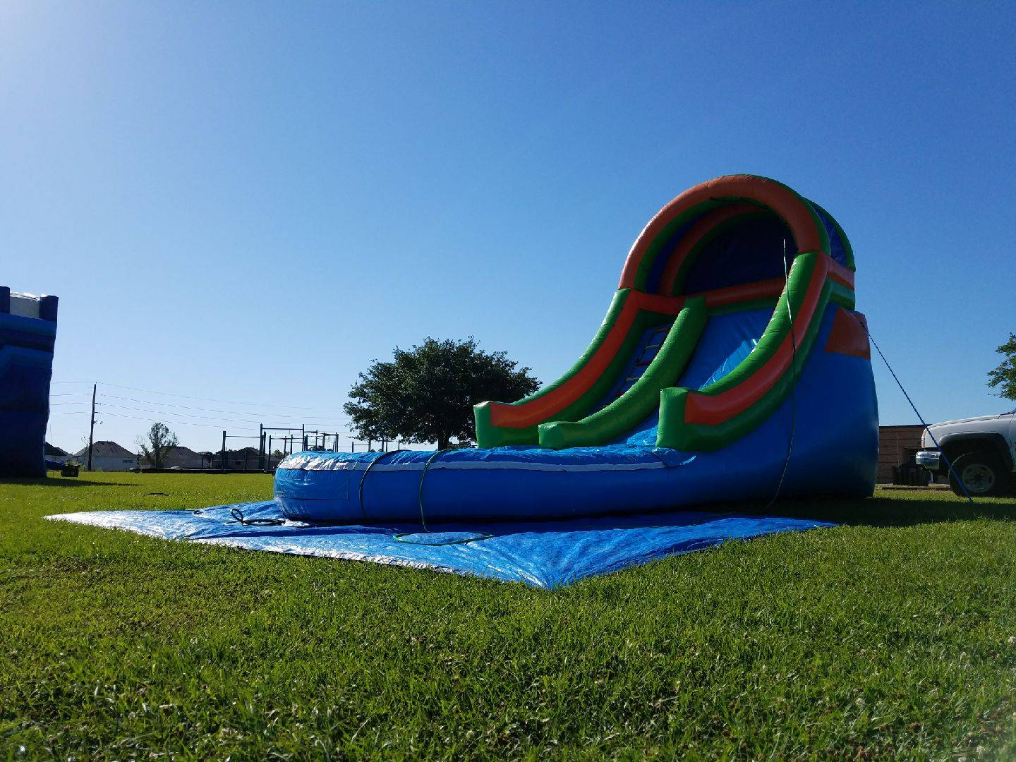 16' Front Load Water Slide 200.00+ tax
