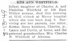 Whitfield, Kim 1949