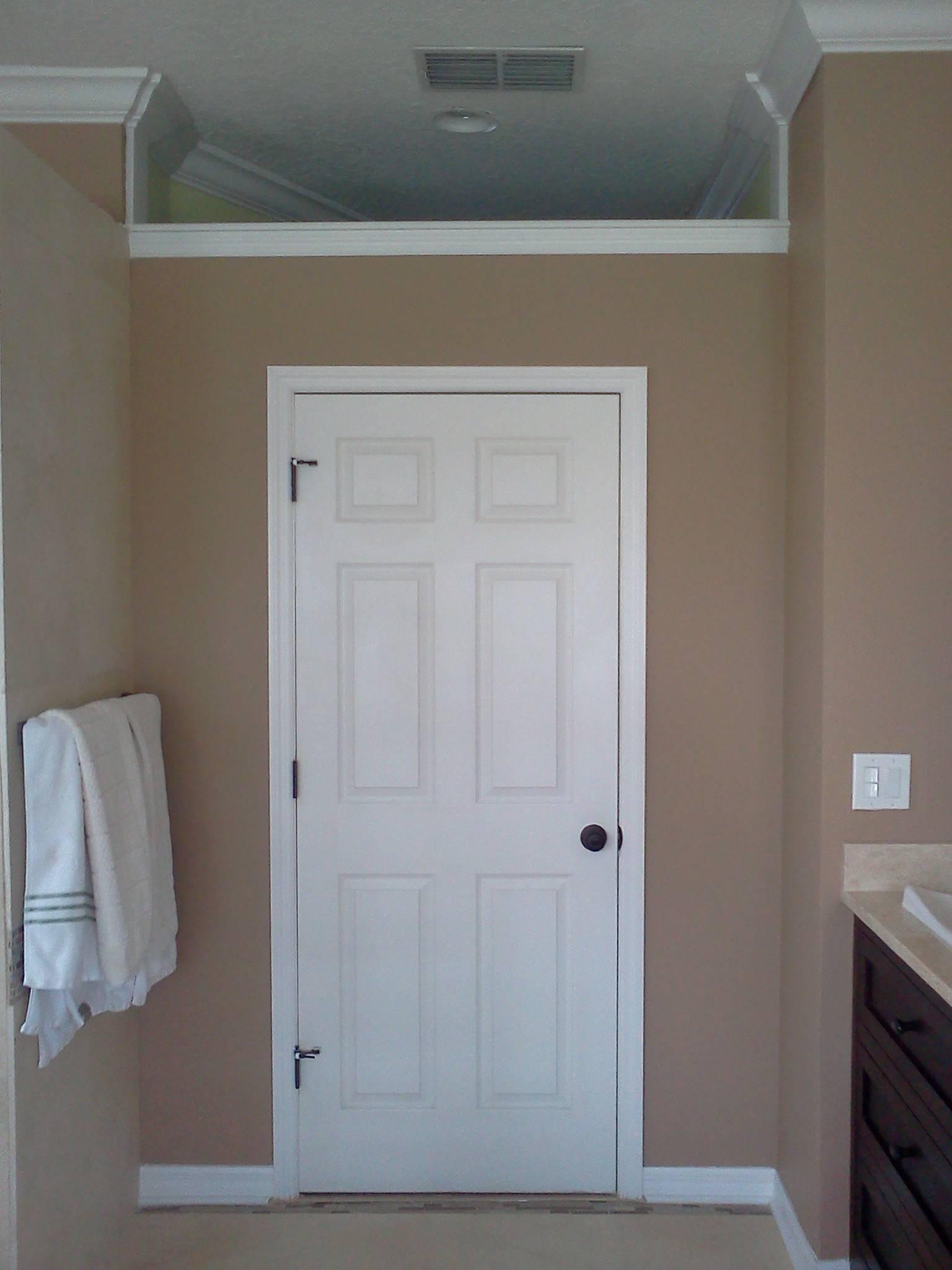 New Door and Trim