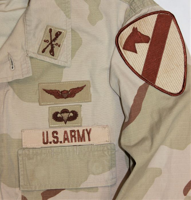 1st Cavalry / Armor Major 1990's: