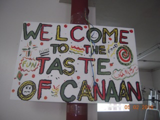 Taste of Canaan