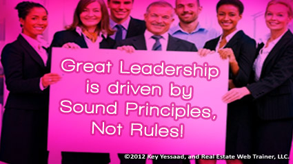 Principles leverage more power than Rules