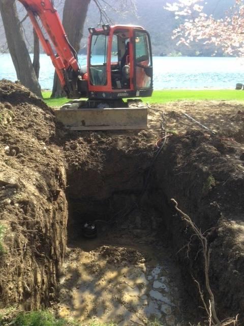 Septic Tank Hole Excavation