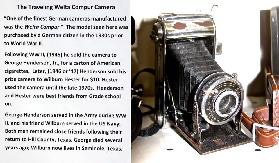 The Travelling Welta Compur Camera