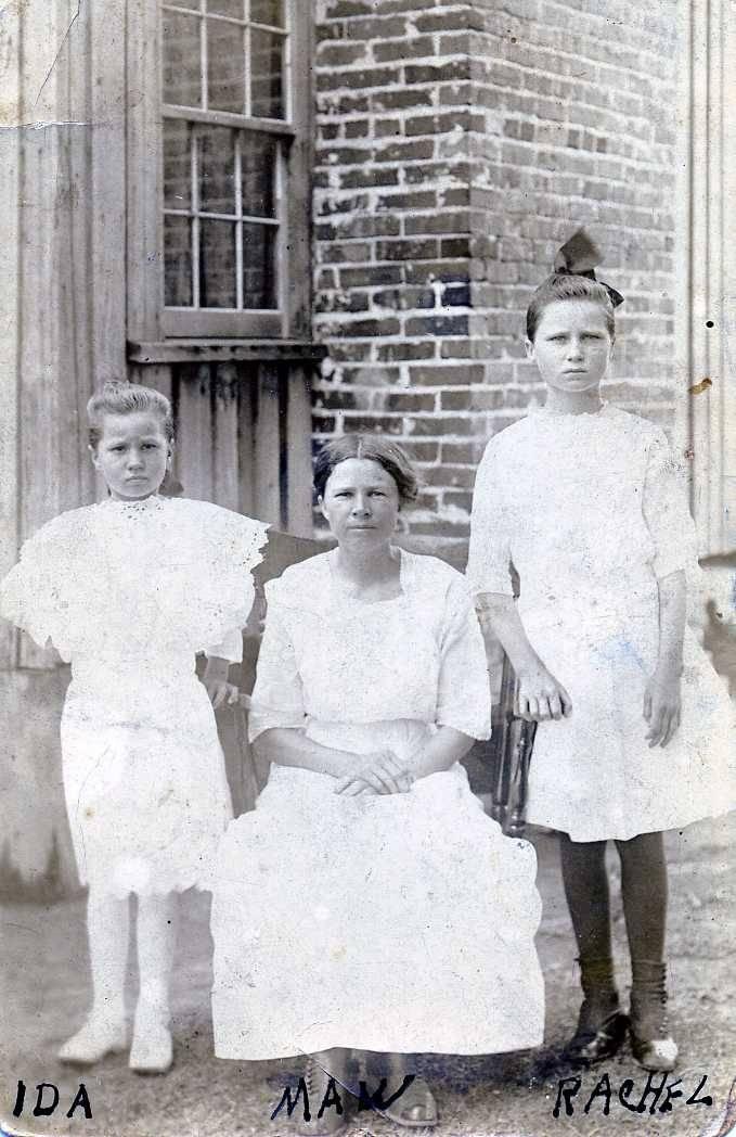 Ida Blanche Gurganus, Mattie Bumpsy Bell Gurganus, Rachel Gurganus
