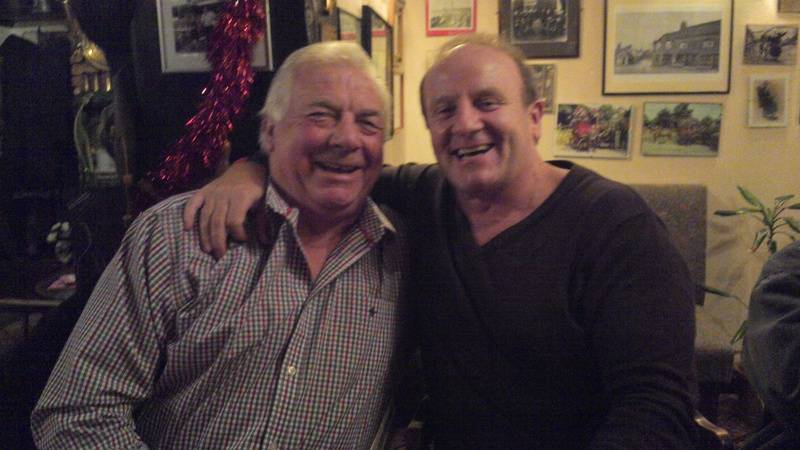 Tarzan Johnny Wilson and Superstar Mal Sanders