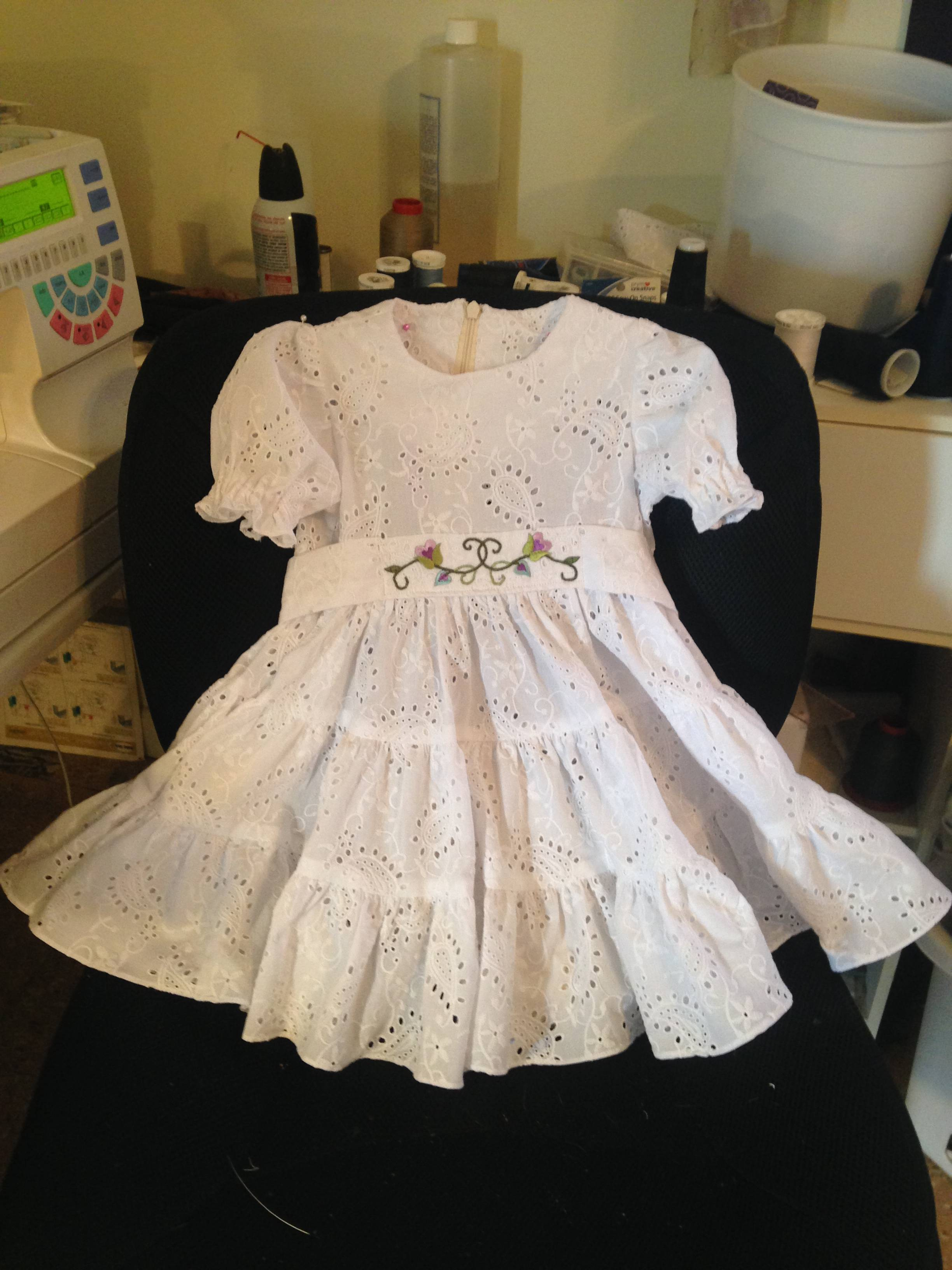 Abigails Baptism Dress