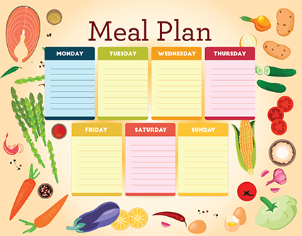 CUSTOMISABLE MEAL PLANS