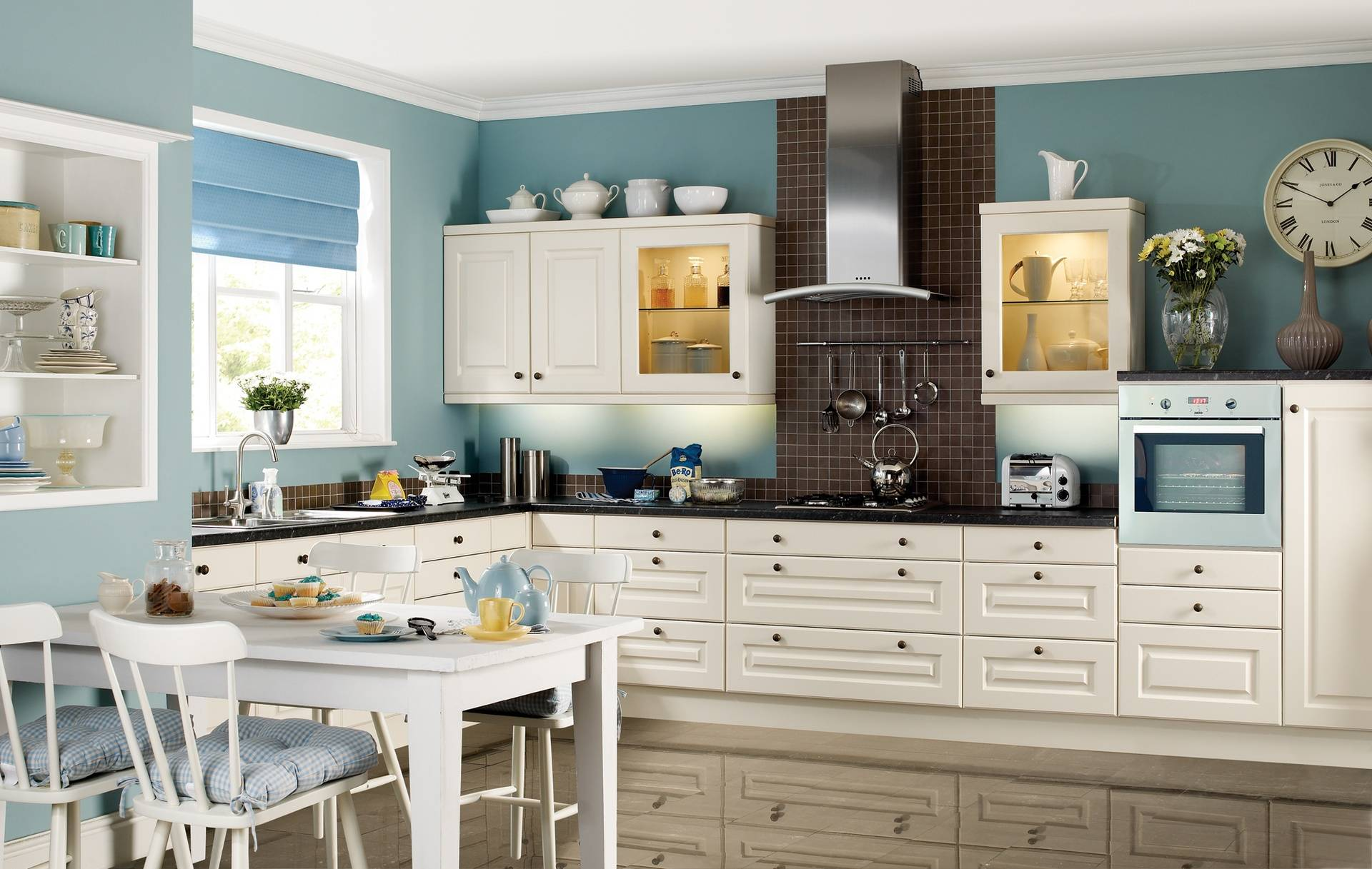 COLONIAL ABBEY OYSTER (PALE CREAM) KITCHEN