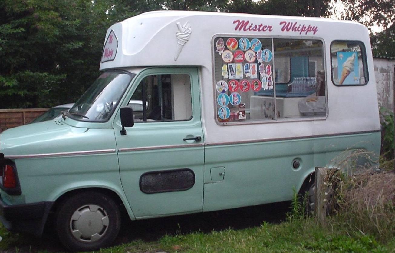 1980s Ice Cream Van