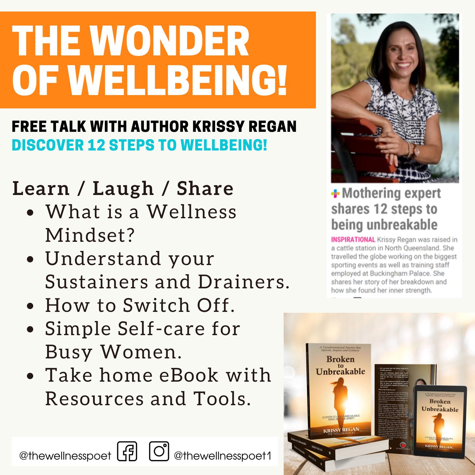 Wonder of Wellbeing Talk Series