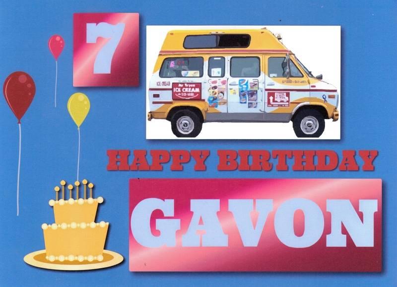 HAPPY BIRTHDAY GAVON !!!!!!