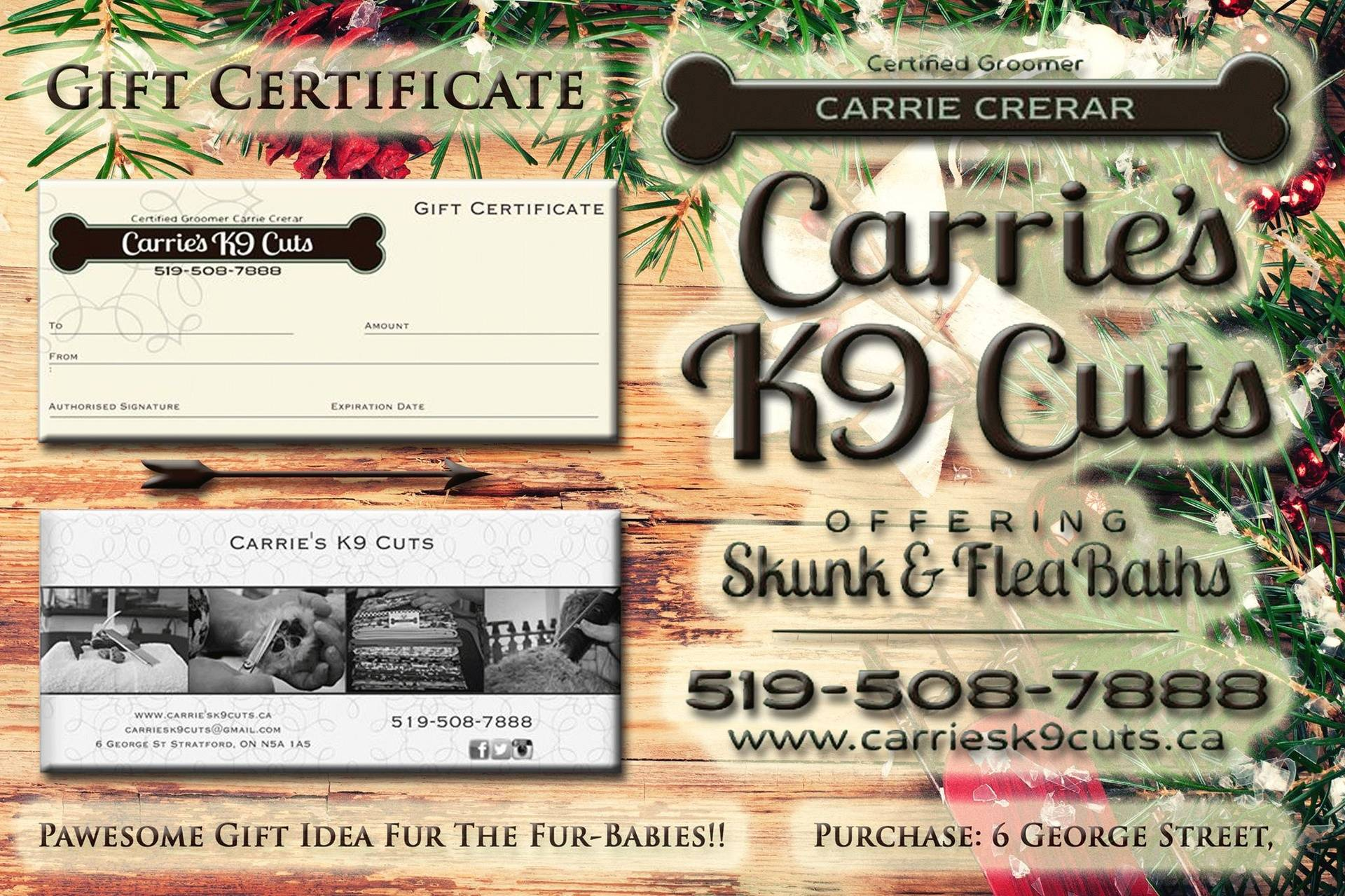 Gift Certificate 2016