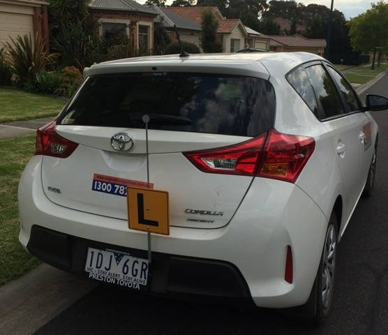 Driving School Watsonia - Toyota Corolla Hatch - Automatic