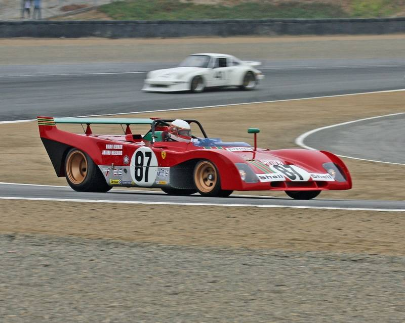 Third Place 1970 Ferrari 312 PB