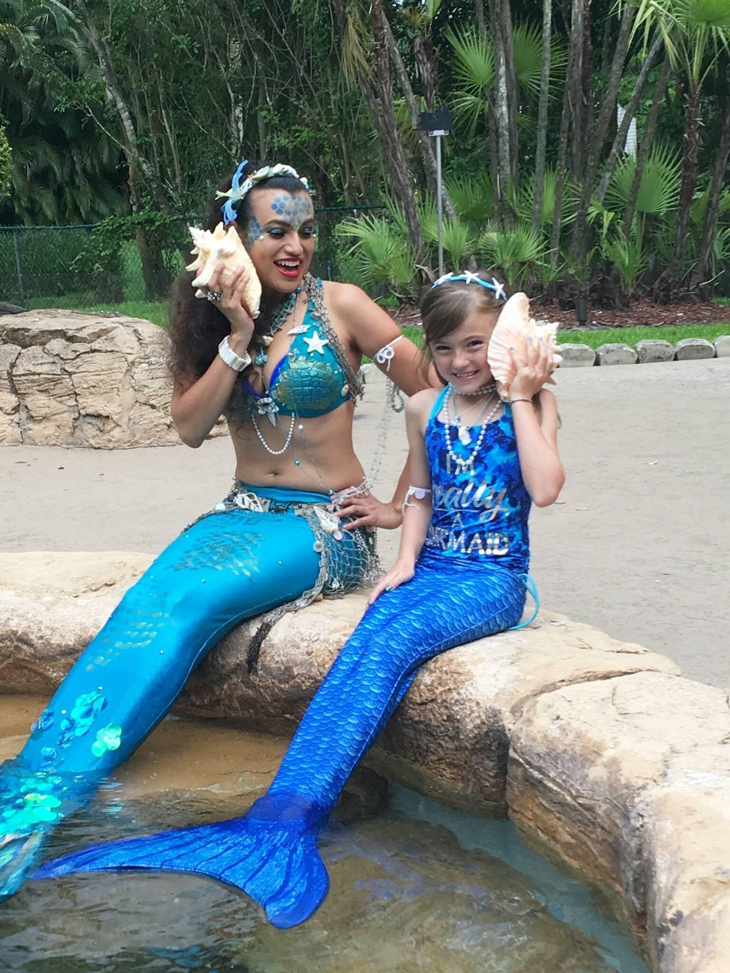 Mermaids for parties