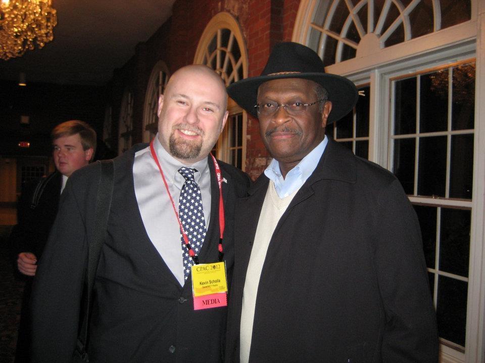 Kevin & Herman Cain