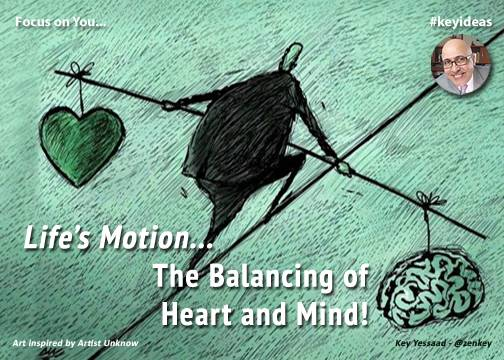 Deliberate Balancing of Heart and Mind
