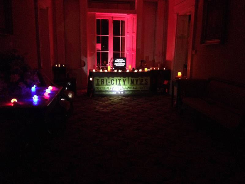 The Ten Broeck Mansion Spirit Circle Table