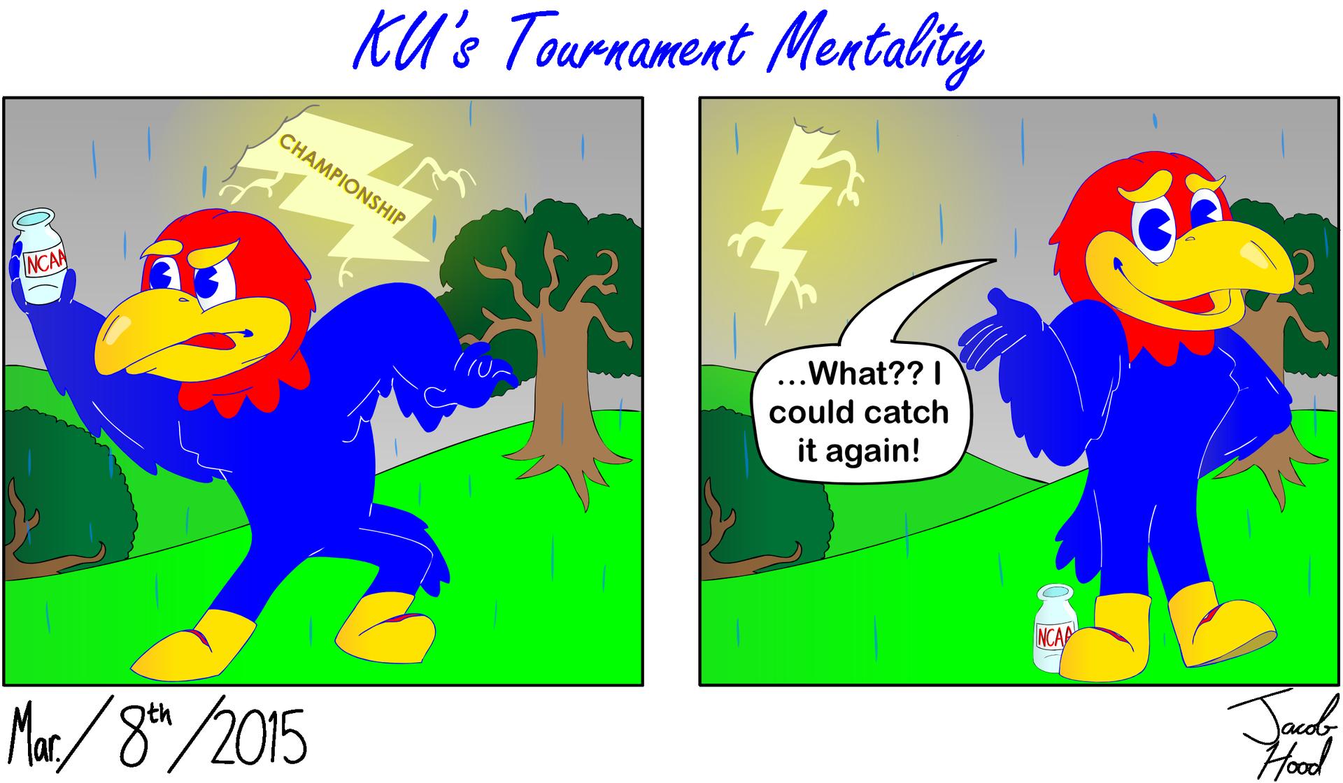 KU's Tournament Mentality