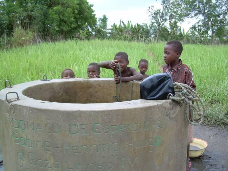 Le puits de l'école